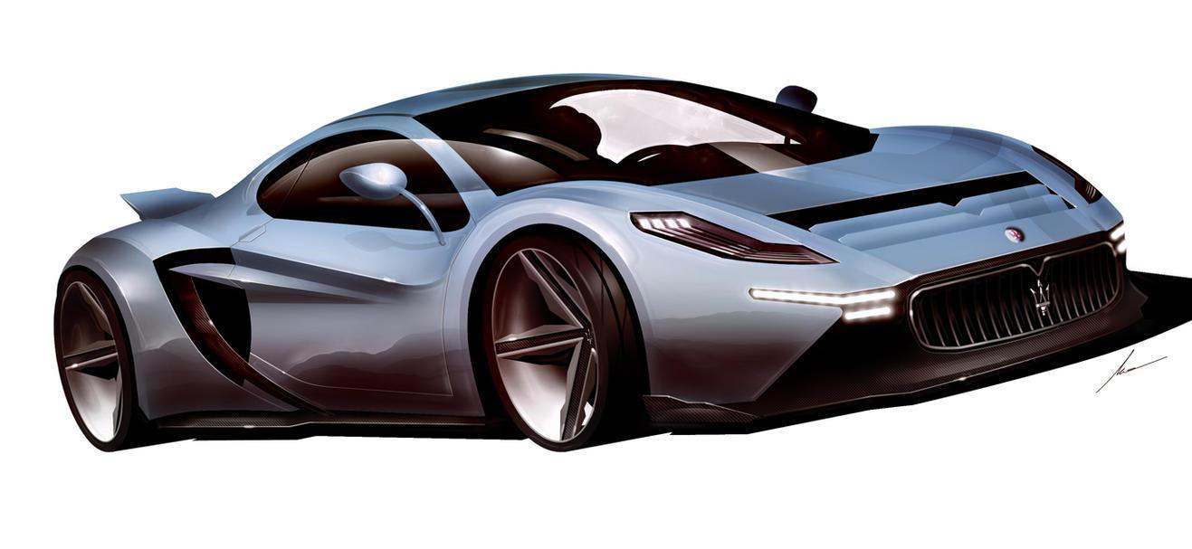 Maserati Nettuno concept by pietrekm