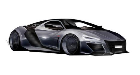 AUDI R supercar concept