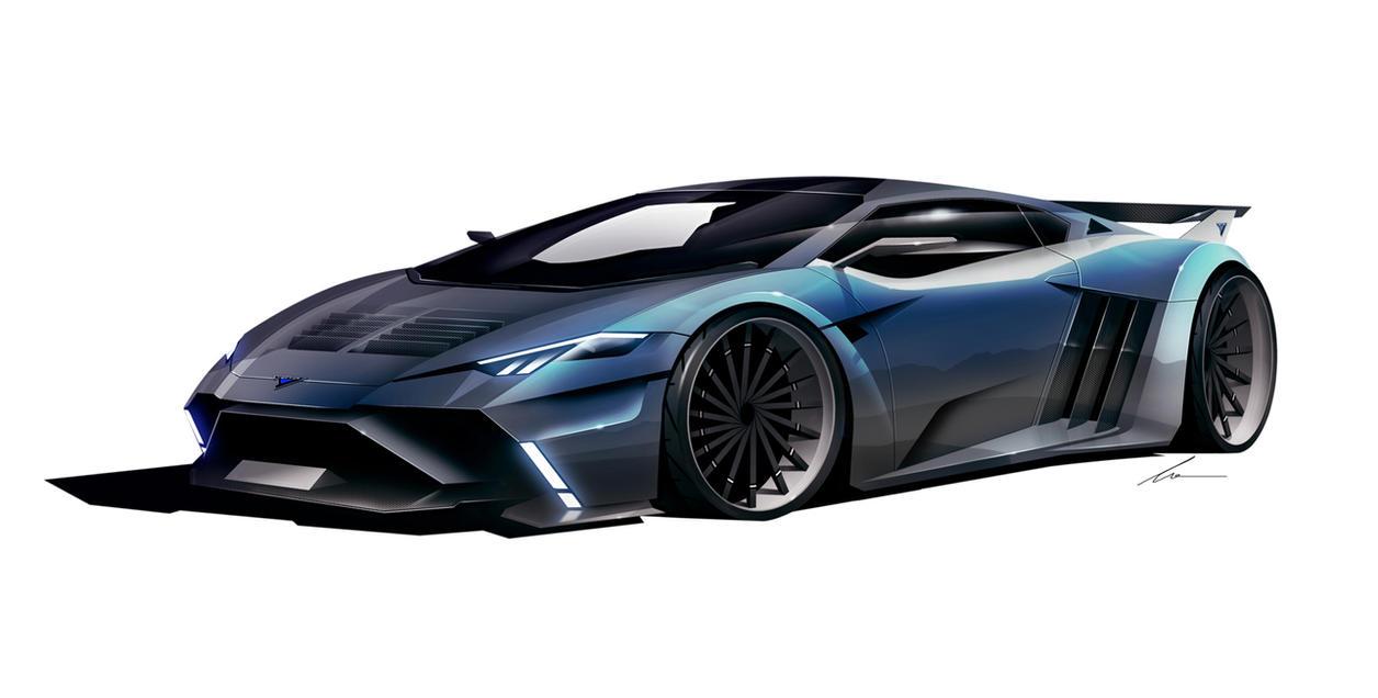 Vector Motors W12 supercar concept by pietrekm on DeviantArt