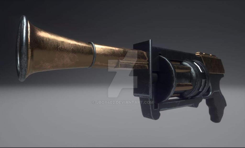 Odd Pistol by JBoy402