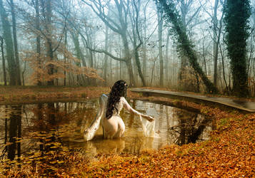 Lady of the lake by levifreelife