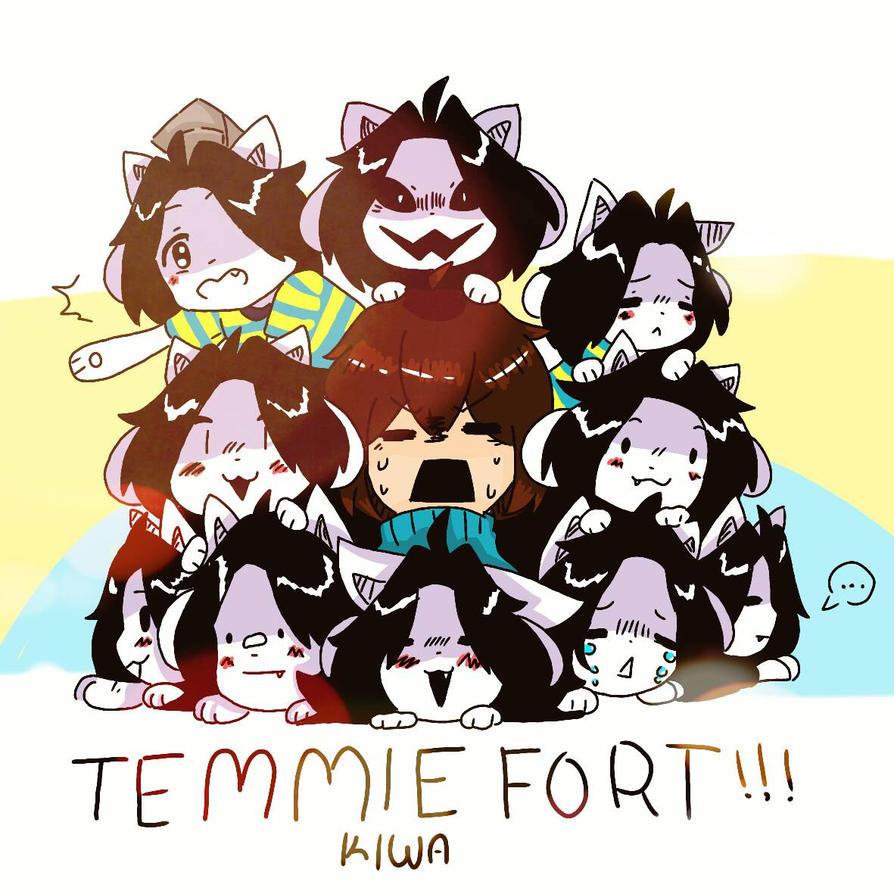 Temmie fort by kiwazenpai on deviantart - Temmie deviantart ...
