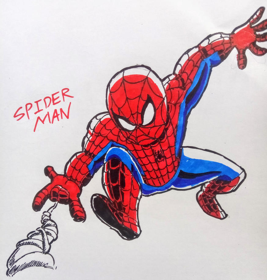 Spider-Man Fan art by theguywhodrawsalot