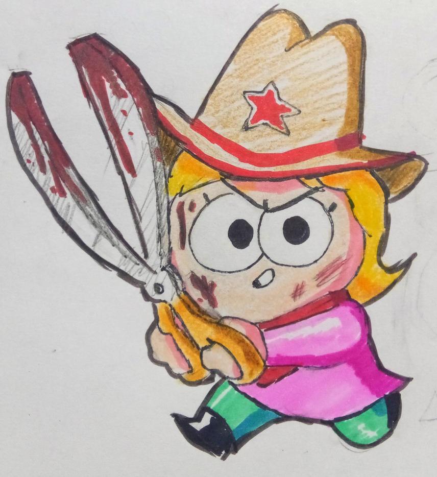 Bandita Sally by theguywhodrawsalot