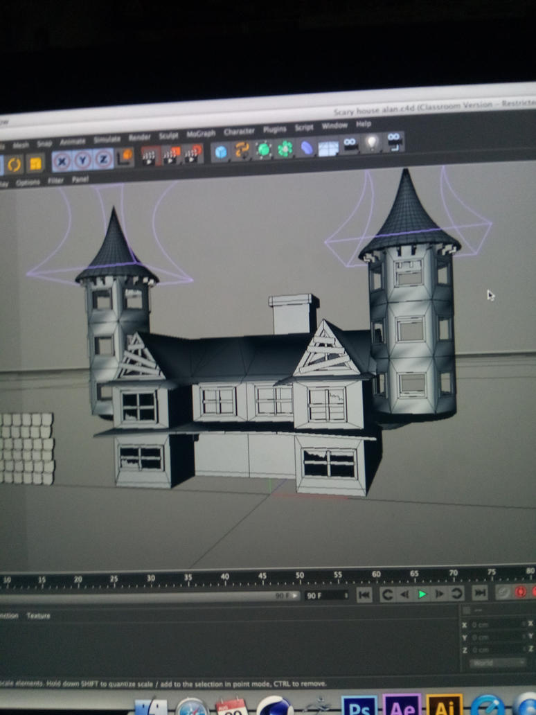 I can do 3D modeling by theguywhodrawsalot