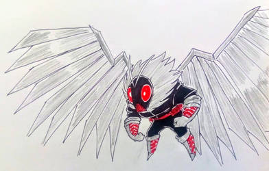 A Villain based on a Moth