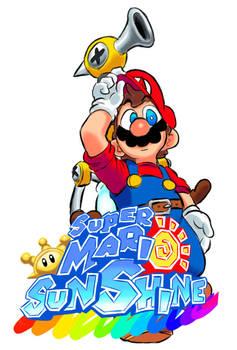 Super Mario Sunshine fanart