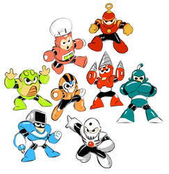 Megaman 4 robot masters
