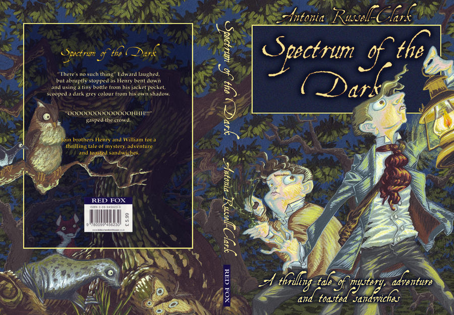 Spectrum of the Dark cover by invent-a-shell