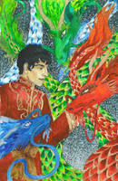 Merlin: 2012 Year of the Dragon by ReniMilchstrasse
