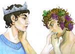 King Edmund and Bacchus