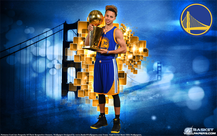Stephen Curry 2015 NBA Champion 2880x1800 By Kide83