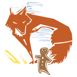 Gingerbread Man and Fox