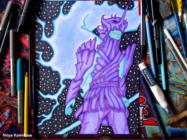 Sasuke Tailed Beast Susanoo by NiiyaSensei on DeviantArt