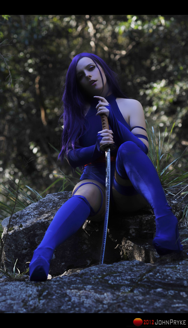 Psylocke x by MoonFoxUltima