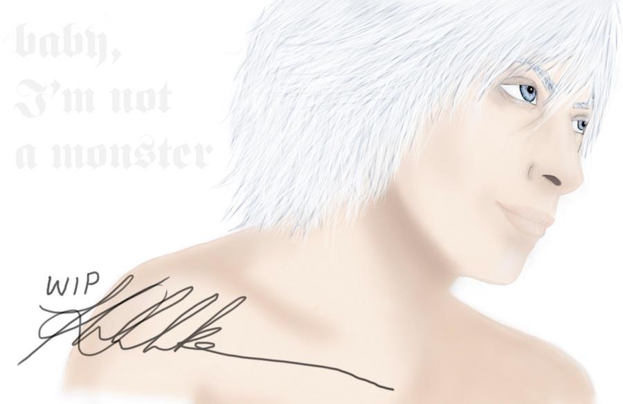 WIP Dante by katyuskamoonfox