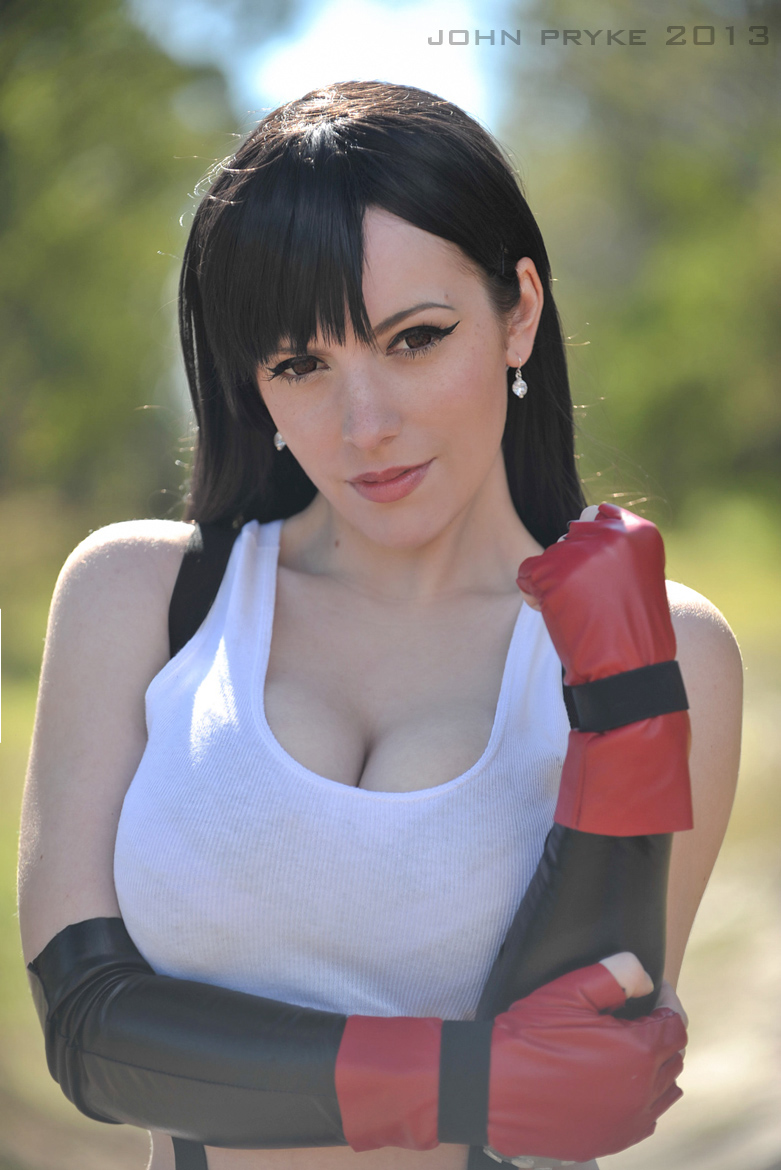 Tifa: You can do it! by katyuskamoonfox