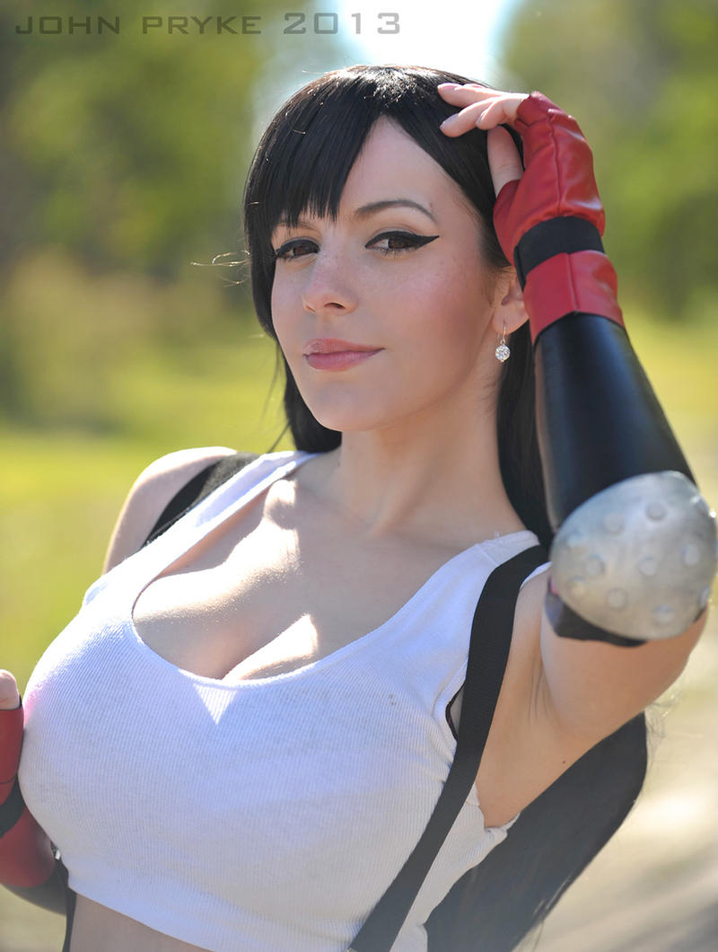 Home: Tifa Lockhart by MoonFoxUltima