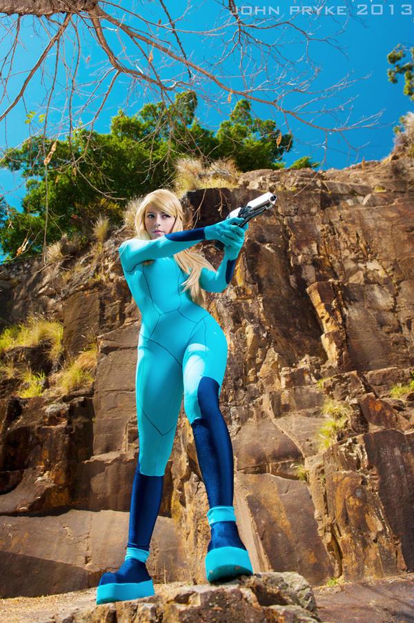 Zero Suit Samus by katyuskamoonfox