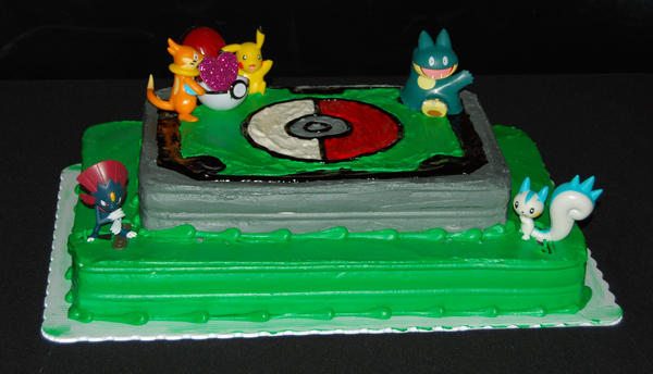 Pokemon Fondant Cake Toppers