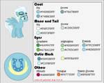 Color Guide - Fleefoot