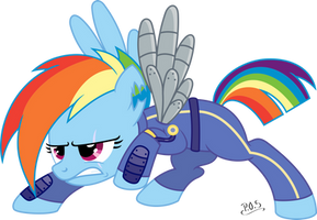 Rainbow Dash - Crystal War