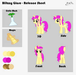 Blitzzy Glare - Reference Sheet