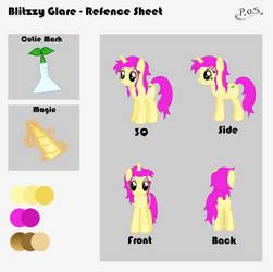 Blitzzy Glare - Reference Sheet by MidnightBlitzz