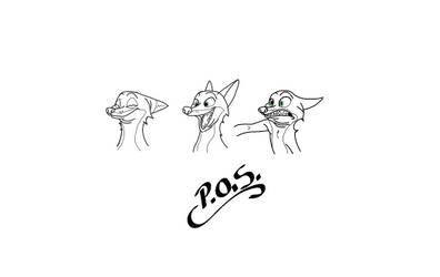 Random Zootopia Sketches
