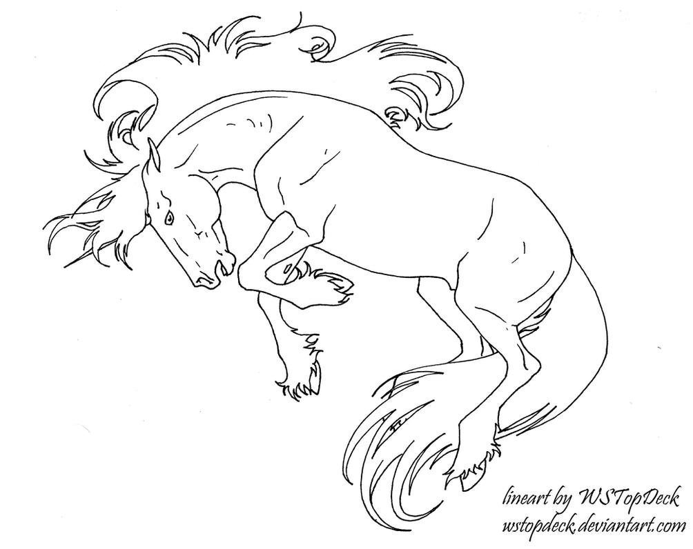 bucking unicorn lines free use by wstopdeck
