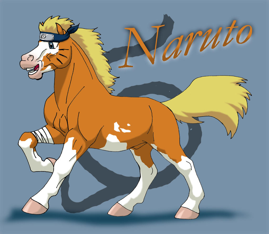 Naruto Pony by WSTopDeck on DeviantArt: wstopdeck.deviantart.com/art/Naruto-Pony-32684531