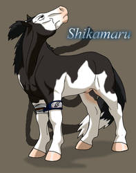 Shikamaru-pony by WSTopDeck