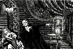 Gorey Phantom by OdeToEmpyrean