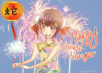Happy Chinese New Year!! by EarlCiel