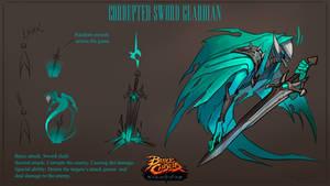 Corrupted sword guardian.