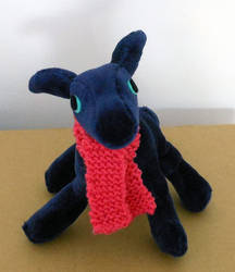 Dickie the Dragon by knitmonday