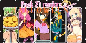 PACK RENDERS HALLOWEEN 21 *