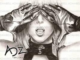 Lady Gaga by adzbell
