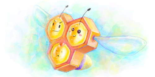 Combee by son-trava