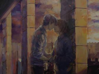 (SNK) Jean x Armin by son-trava