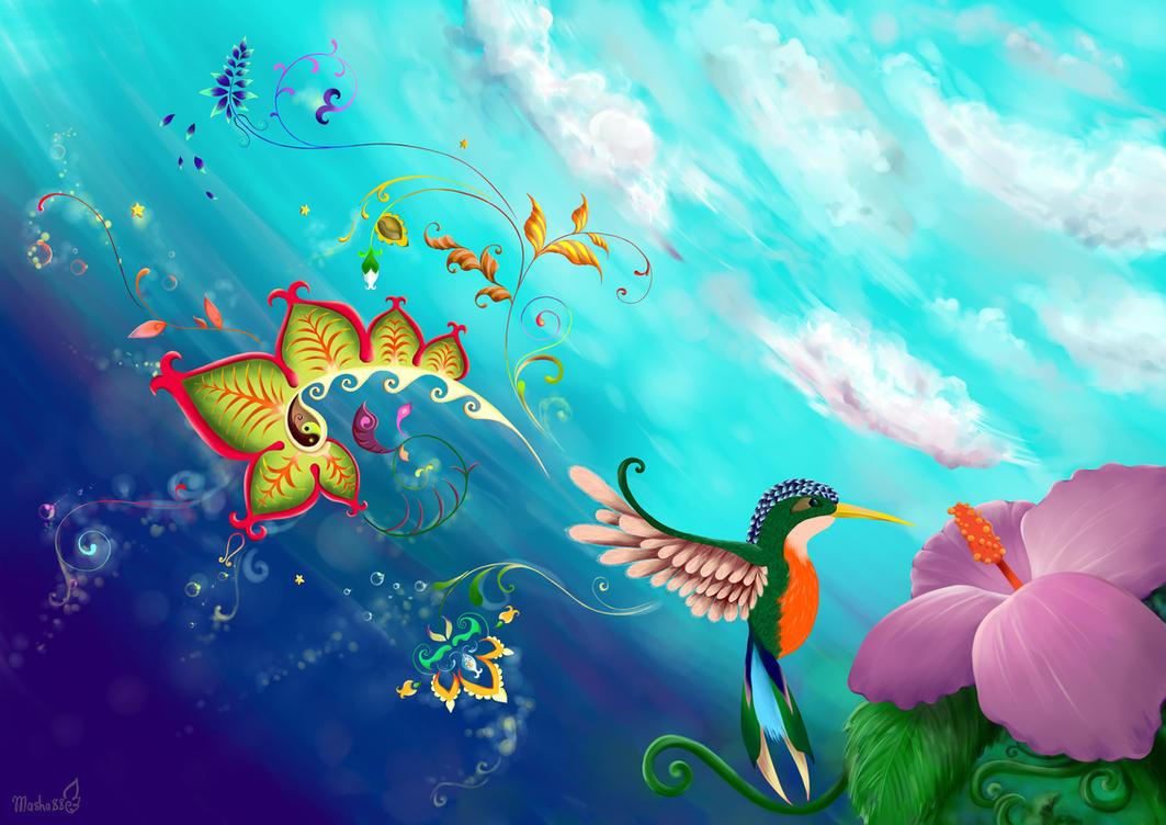 Colibri by masha88
