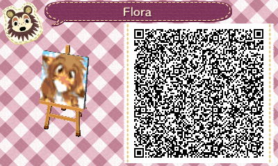Flora ACNL QR Code by SpykeXD