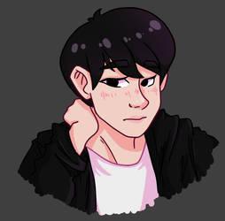 Jin In Black by tomokijin