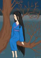 Na drzewie 2 by Ichi-14