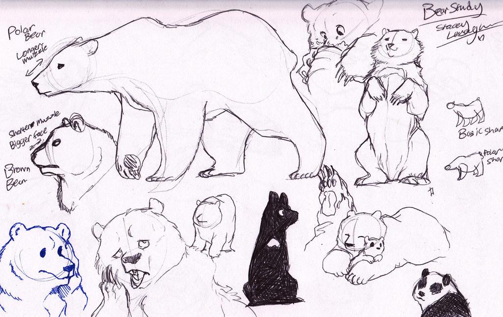 BEARS, BEARS, BEARS! by ShadeySix