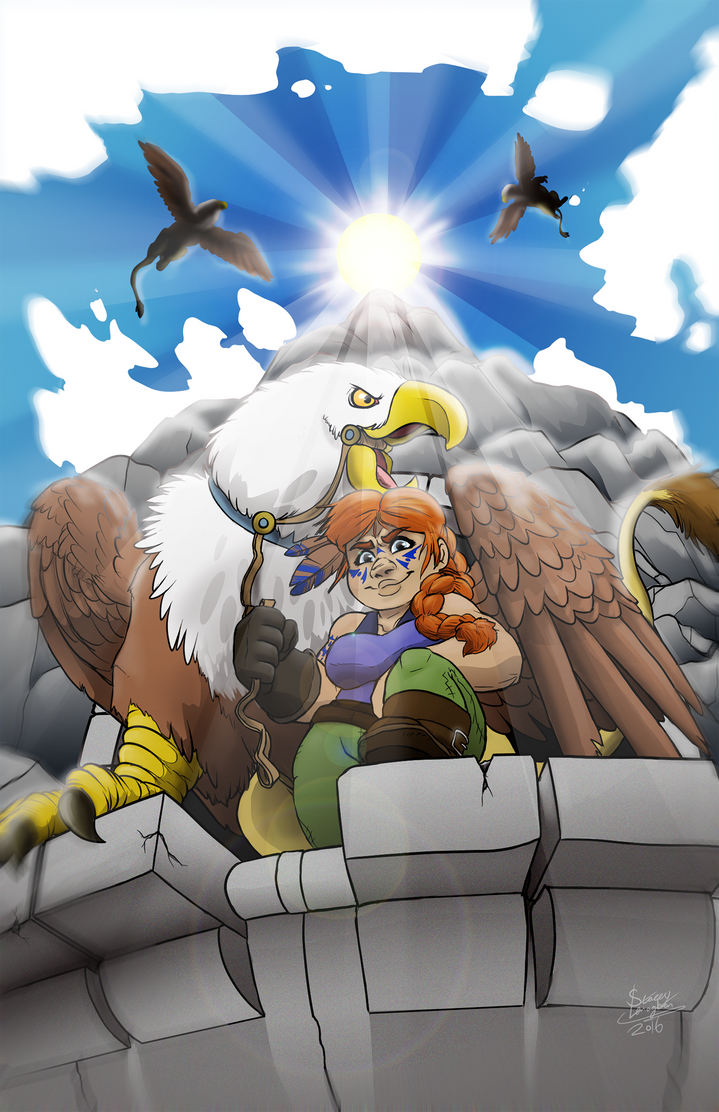 The Gryphon's Perch by ShadeySix