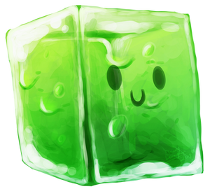 Gelatinous Cube by ShadeySix