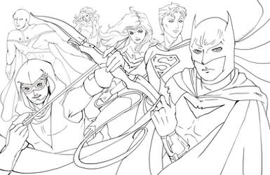 To Protect the Earth Lineart