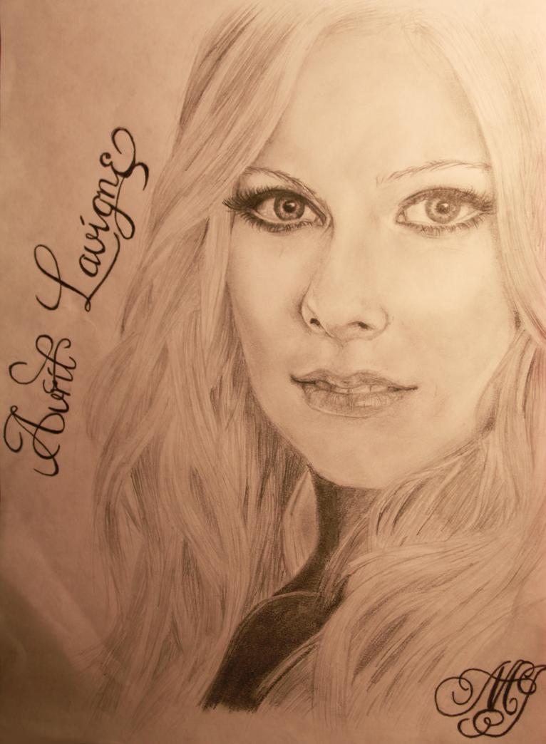 Avril Lavigne by maaike1995