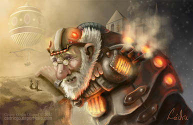Steampunk Giant by CDrice